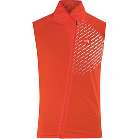 Compressport Hurricane V2 bodywarmer, red